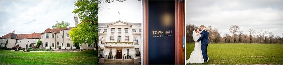 Essex wedding photographer at That Amazing Place, The Town Hall Hotel and a private house wedding