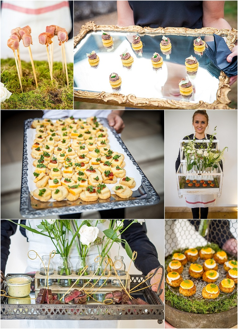Inspired wedding food canap s for Wedding canape alternatives
